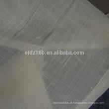 Tecido novo da cortina da voile da chegada 100% Polyester sheer
