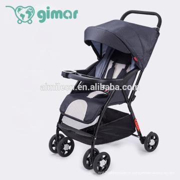 Carrinho de bebê dobrável super leve 2 EM 1 sistema de transporte para carrinho de bebê portador de bebê ajustável
