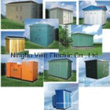 Caixa de subestação americana tipo caixa