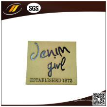 Men Leather Label for Jeans Bag Suitcase (HJL31)