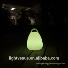 LED glow lantern table lamp