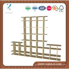 Présentoirs en bois à deux niveaux de 8 pi