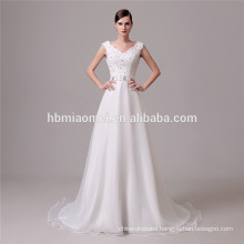 latest design white color sexy lace up waistband wedding dress shenzhen with plus size for summer
