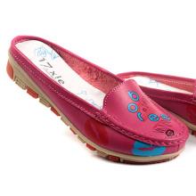 Nouvelles chaussures plates de la marque de chaussures de la mode des femmes solides