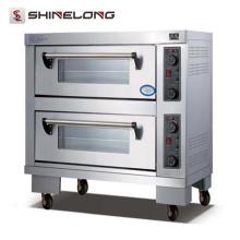 Horno automático móvil comercial comercial de la pizza del equipo profesional K343 de la panadería para la pizza usada