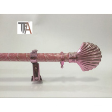 Pink Color Curtain Pipe Iron Curtain Rod