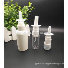 PE 10ml 20ml 30ml HDPE Kunststoff leere Nasenspray Flaschen