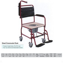 Flip up Armest Commode Chair