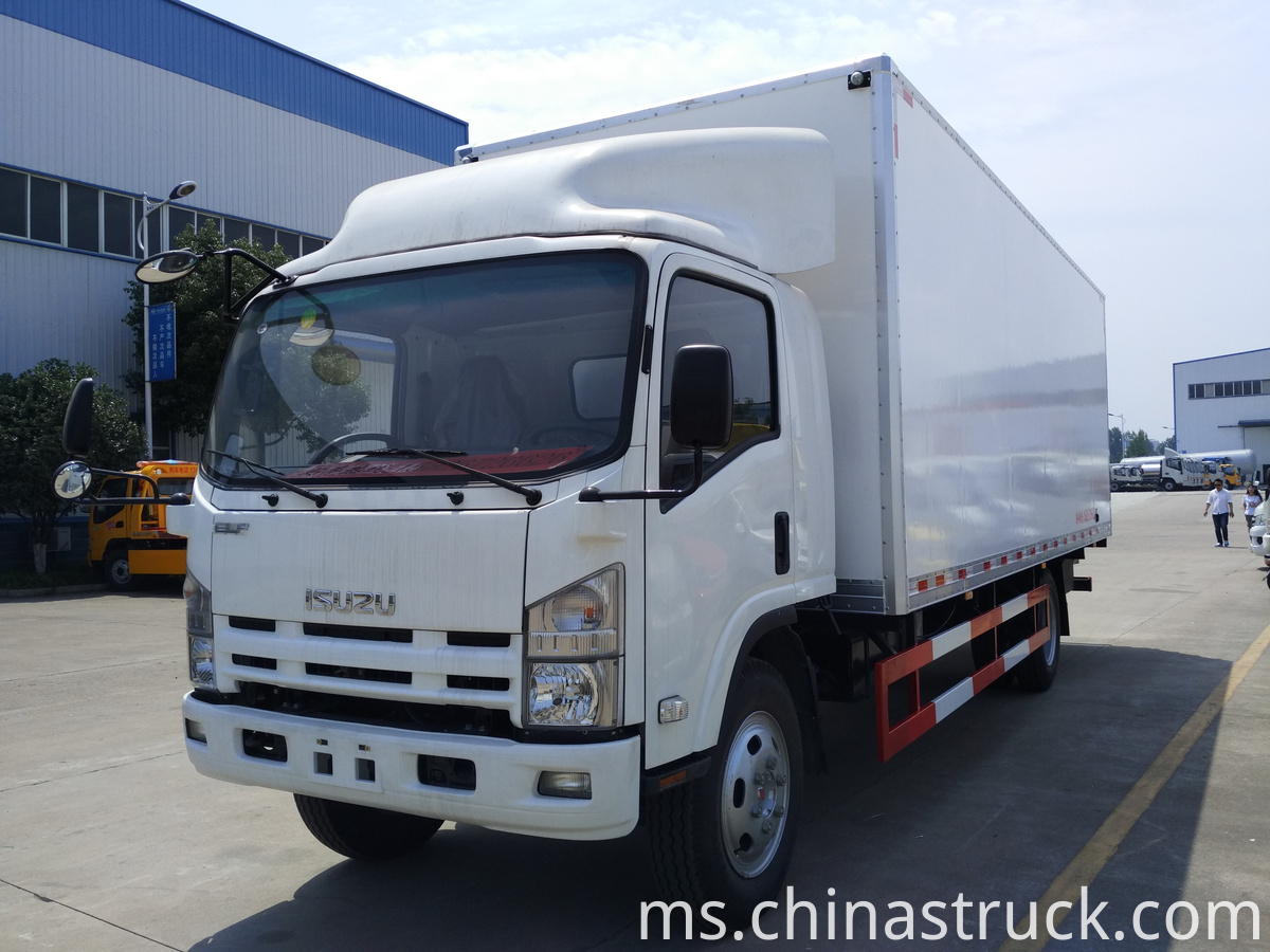 ISUZU 10T fresh food transport truck