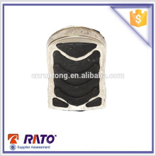 Golden supplier chrome foot rest rubber for motorcycle