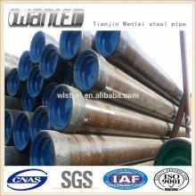 API J55 carcasa y tubería tubería de acero
