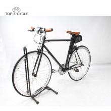 Nuevo 700C pedelec city racing ebike bicicleta eléctrica de velocidad única fija bicicleta eléctrica