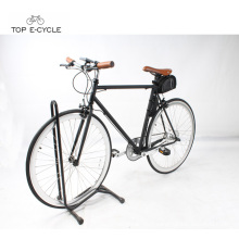 New 700C pedelec city racing ebike single speed electric bicycle fix geared electric bike