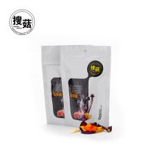Estilo chino saludable deliciosa mezcla okra merienda