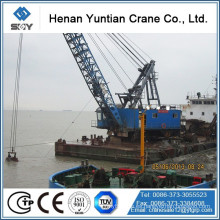Grab Bucket Sand-Excavating Ship, Barge Crane