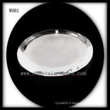 Perles de cristal rondes W081