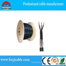 4X70mm2 XLPE стальной проволоки бронированный кабель питания деревянный барабан