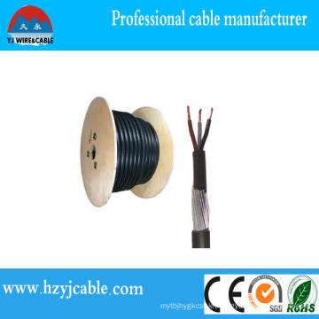 4X70mm2 XLPE Steel Wire Armoured Power Cable Wooden Drum