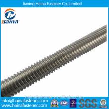 Производители резьбовых стержней ASTM A193 B8 Резьбовой стержень