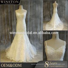 La Chine fournit toutes sortes de robes de mariée avec des accents marron