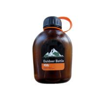 Botella plástica portátil al aire libre de los deportes de 600ml / 850ml con el revoltijo