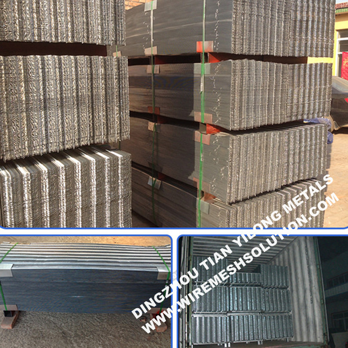 Galvanized Diamond Rib Lath