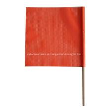 bandeira de haste de passador de madeira
