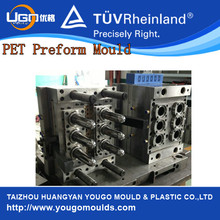 6 Cavity Oil Bottle Preform Molds