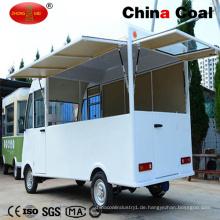 Weißes Straßen-Klimaelektrisches bewegliches Nahrungsmittelauto