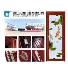 Waterproof Aluminum Bathroom Door (LTA-390)