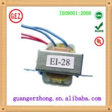 EI 28 transformateur 0.5va 1.0va 3.0va split core courant transformateur1.5va 110 v 230 v transformateur de puissance électrique1.5va 110 v 230 v el