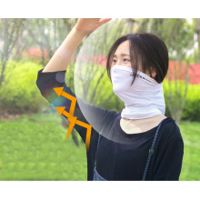 Rockbros Summer Sun Protection Cycling Headwear Scarves Absorb Sweat Breathable Running Bicycle Neck Scarf