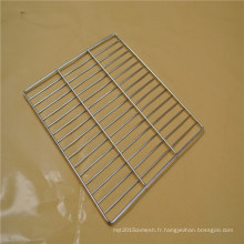 Plateau en acier inoxydable adapté aux besoins du client de maille de four