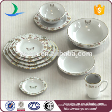China Manufacturer Export 10Pcs Ceramic Dinner Cutlery Set