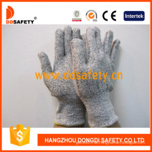 13G Hppe Spandex / Nylon Mixed Cut Resistant Handschuh -Dcr103