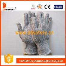 13G Hppe Spandex / Nylon Mixed Cut Resistant Glove -Dcr103