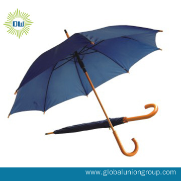 Promotional Beach Parasol Windproof Straight Umbrella