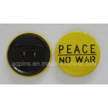 Emblema profissional do botão do estanho do fabricante (botão badge-43)
