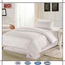 Qualitäts-Baumwollsatin-Gewebe 300TC weißes kundenspezifisches königliches Hotel-Bettwäsche