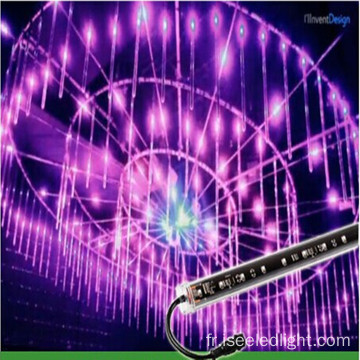 LED 360degree RGB 3D tubes verticaux