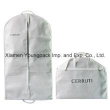 Personalizado impresso branco terno viagem vestuário cobrir saco