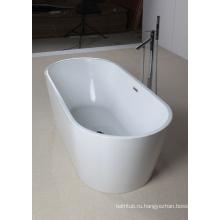 Замачивающая ванна в белом акриле