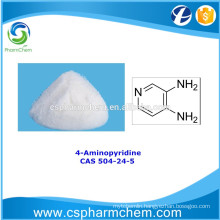 4-Aminopyridine, CAS 504-24-5, Pharmaceutical synthesis intermediate