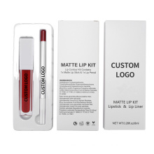 Makeup Manufacturers Sales Makeup Sets Lipgloss and Lip Liner Pencil Wholesale Lip Gloss Kit Lipliner Clear Lip Gloss