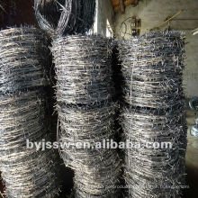 Galvanized & PVC Coated Barbed Wire / Barbed Wire Fence