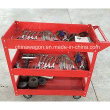 Rif Heavy Duty Work Red Steel Tool Cart Sc1350