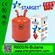 N-butane -R600 99,9% de gaz de réfrigération à la pureté R600A