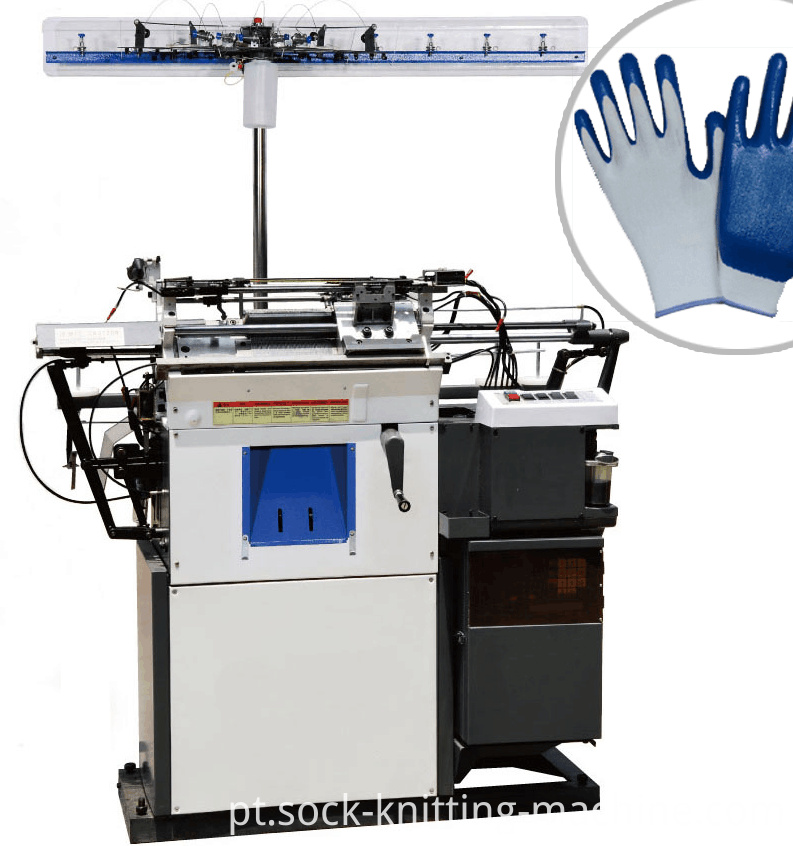 Typical Machine to Make Gloves