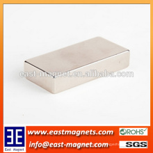 50mm x25mm x10mm N35 Huge Strong Large Sintered Neodymium Block Magnets/ndfeb magnet for sale
