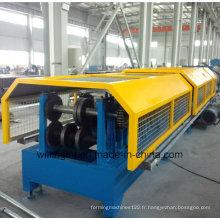 Ligne de production de machine de formage d'acier en métal de panne CZ